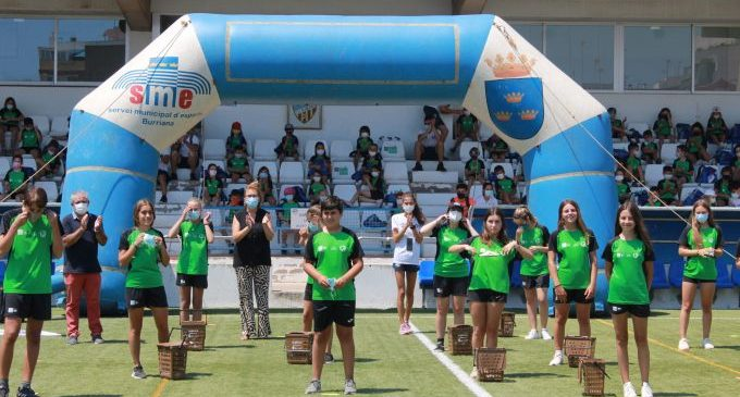 161 xiquets i xiquetes participen en el primer torn del Campus Multiesportiu Saludable d'Estiu a Borriana