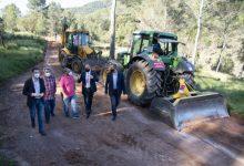 La Diputació invertirà 916.000 euros en 2021 en el manteniment de pistes i camins rurals dels pobles menuts