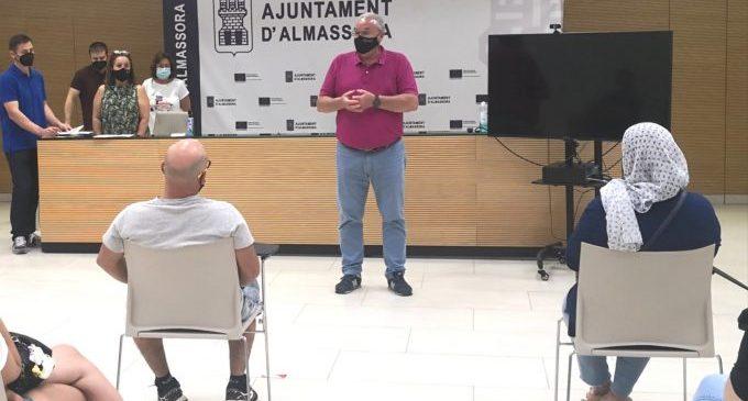 Almassora incorpora a 17 treballadors a través del Pla d'Ocupació