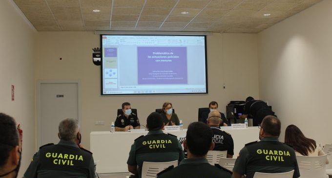Borriana inaugura el nou Centre de Formació de la Policia Local amb el fiscal delegat de Menors de Castelló