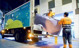Borriana reforça el servei de recollida de voluminosos que passarà a 5 dies setmanals
