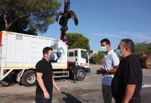Castelló incorpora un camión pluma para incrementar la frecuencia de recogida de poda