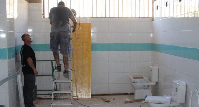 Castelló escomet obres de millora a huit centres educatius de la ciutat