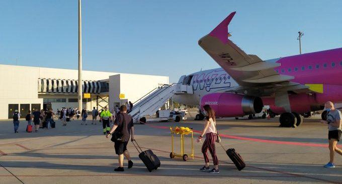 Es posa en marxa una nova línia de bus fins a l'aeroport de Castelló