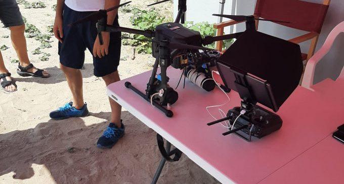 El dron de salvament s'estrena els primers dies amb un rescat a les platges de Borriana