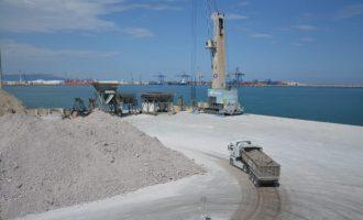 El port de Castelló creix un 11,46 % al juliol respecte a 2020 en l'acumulat de l'any