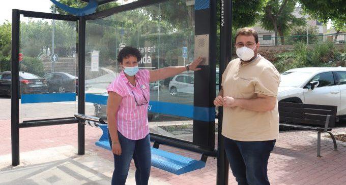 Onda reforça la seguretat ciutadana amb una parada d'autobús segura