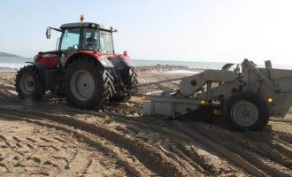 Benicàssim reclama al Ministeri mantindre les aportacions d'arena a les platges davant la falta d'actuació en els espigons