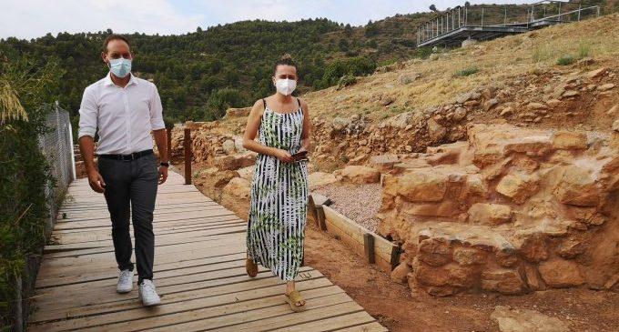 La Vall ofereix per primera vegada visites guiades al Poblat Iber de Sant Josep
