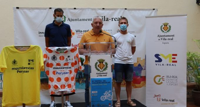 Vila-real aposta per la formació de la pedrera ciclista amb el primer trofeu escolar Sebastián Mora Vedrí