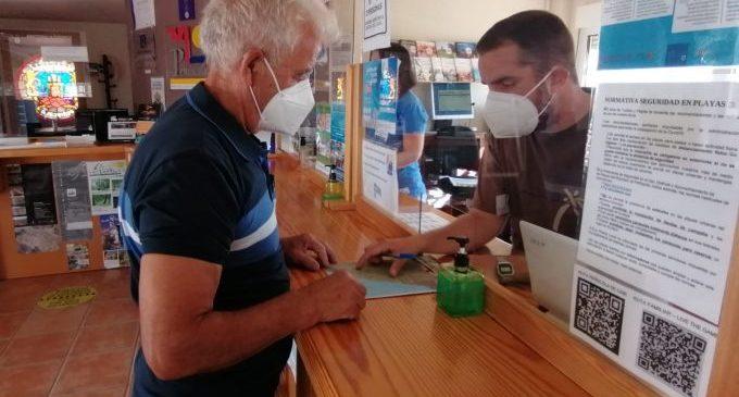 Informació Turística de Peñíscola atenen més de 10.000 consultes aquest mes de juliol