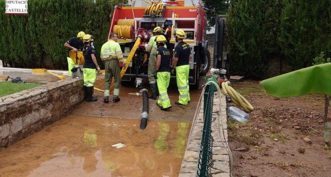 Castellón continua en alerta naranja y amarilla por lluvia y granizo