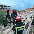 Dues persones queden atrapades en un edifici esfondrat a Peníscola