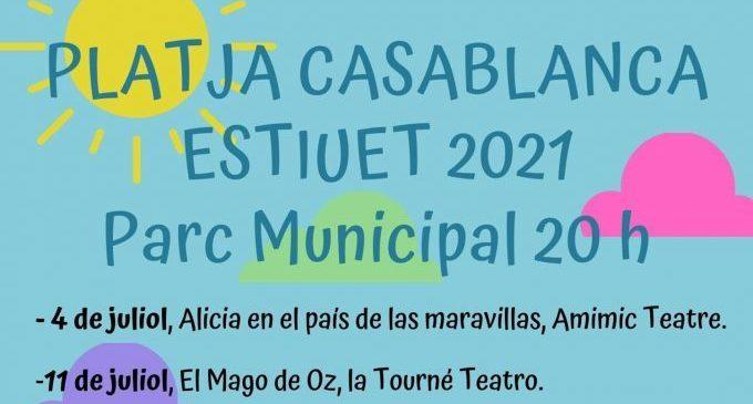 Almenara amplia les activitats de l'Estiuet i música segura a la plaça