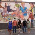'Present de jocs' un mural que ret homenatge a les persones majors de l'Alcora