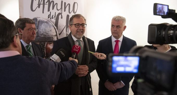 José Martí destaca la inversió de 15.120 euros per a la millora de la senyalització de l'itinerari del Camí del Cid al seu pas per la província de Castelló