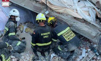 L'equip de rescat de l'edifici esfondrat de Peníscola troba morta a la dona desapareguda