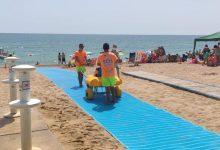 Turisme millora l'accessibilitat de les platges del Morrongo i la Caracola
