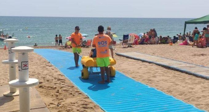 Turismo mejora la accesibilidad de las playas del Morrongo y la Caracola