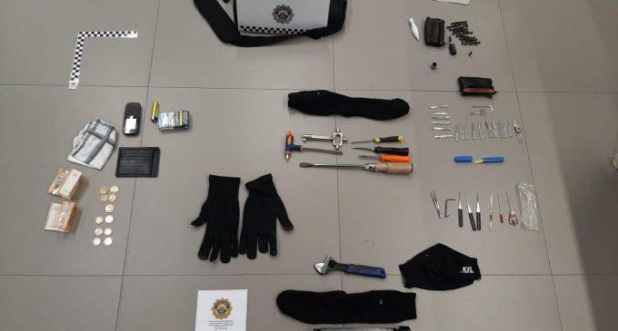 La Policia de Borriana deté a una persona per temptativa de robatori amb força en un habitatge