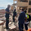 Ximo Puig ofrece ayuda a Peñíscola para los afectados por el derrumbe de un edificio y traslada sus condolencias a la familia del joven fallecido