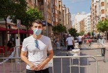 Castelló recupera espai públic per als vianants amb les activitats del 'Park(ing) Day'