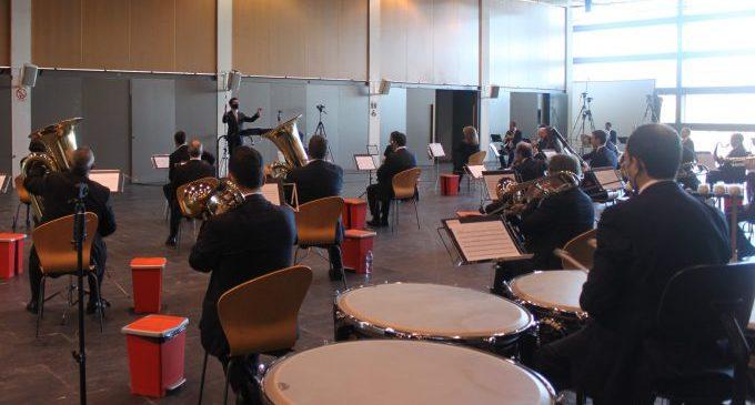 La Banda Municipal de Castelló s'estrena al Festival Ensems de música contemporània