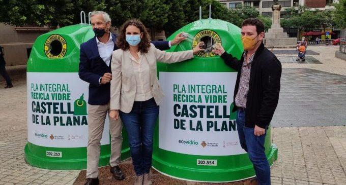 Castelló incrementarà un 30% la recollida de vidre amb un nou programa