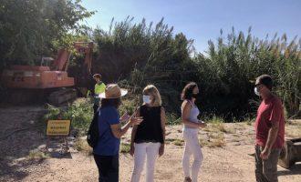 La CHJ atén la petició d'Almassora d'arrancar més de 6.000 metres de canyes del Millars