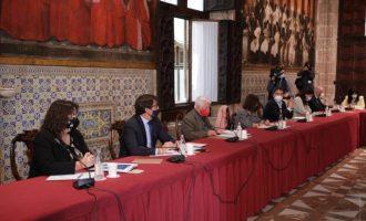 La Diputación conmemora en Peñíscola el Año Berlanga con actividades divulgativas y un espectáculo pirotécnico