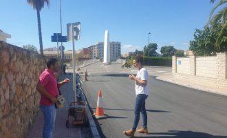 Vinaròs millora l'asfalt en diversos punts del municipi