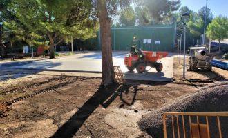 L'Alcora posa en marxa la remodelació del parc de la urbanització El Pantano
