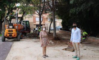 L'Alcora comienza la remodelación del parque Jardins de la Vila