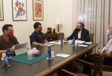 Martí enalteix el treball de Creu Roja de Castelló per a atendre l'increment de les incidències socials arran de la pandèmia