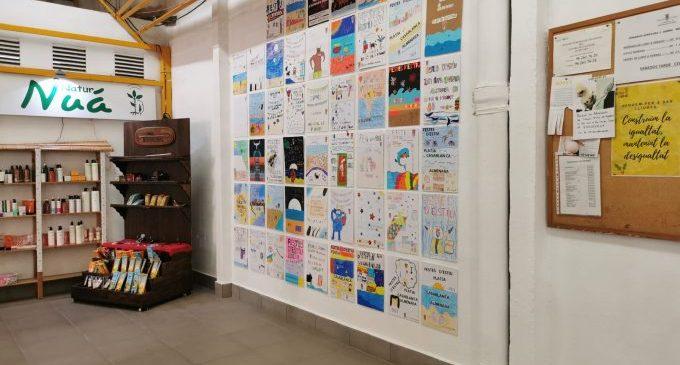 El Mercat Municipal d'Almenara acull el concurs de cartells de les festes patronals i de les de Casablanca