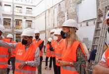 Castelló avança en la construcció del Centre d'Envelliment Actiu després de finalitzar l'enderrocament