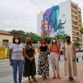 La Vall d'Uixó reivindica el paper de les dones en el mural de l'Avinguda Cor de Jesús