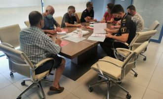 Almenara celebra la reunión de coordinación previa a la celebración de las fiestas patronales