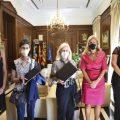 Castelló rep els retrats commemoratius de Germà Colón i el Pare Ricardo