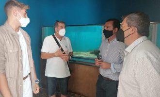 Peníscola ultima les obres de modernització del Museu de la Mar després d'aconseguir finançament europeu