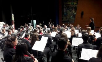 Las bandas de música recorren las comarcas para reivindicarse como Patrimonio Inmaterial de la UNESCO