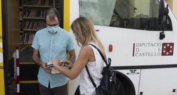 La Diputación invierte 85.000 euros en la compra de un microbús que permitirá duplicar el servicio de Bibliobús en la provincia de Castellón