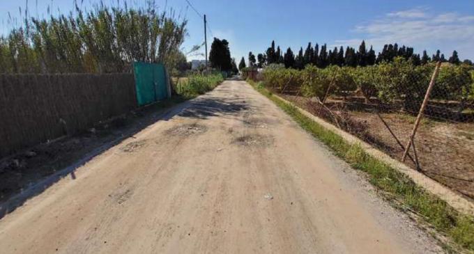 L'ajuntament de Borriana reclama al de Nules que assumisca les despeses que li corresponen per pavimentar el camí rural comú de la Ratlla