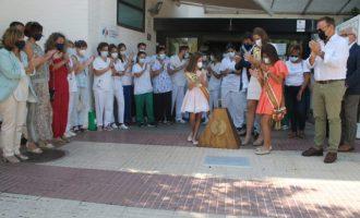 Benicàssim mostra el seu reconeixement al personal sanitari en la lluita contra la Covid-19