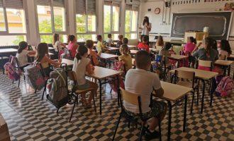 Comienza el curso de Almenara sin aulas prefabricadas en el CEIP Juan Carlos I