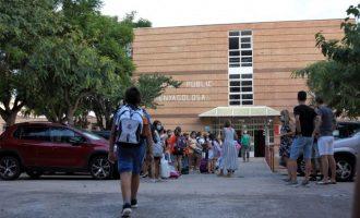 'Vuelta al cole' sin incidencias para más de 5.500 escolares de Burriana