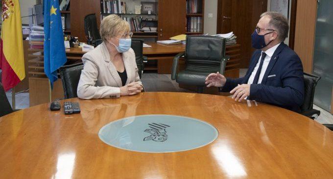"""José Martí celebra el anuncio de la culminación del edificio de oncología del Provincial de Castellón: """"Será una referencia"""""""