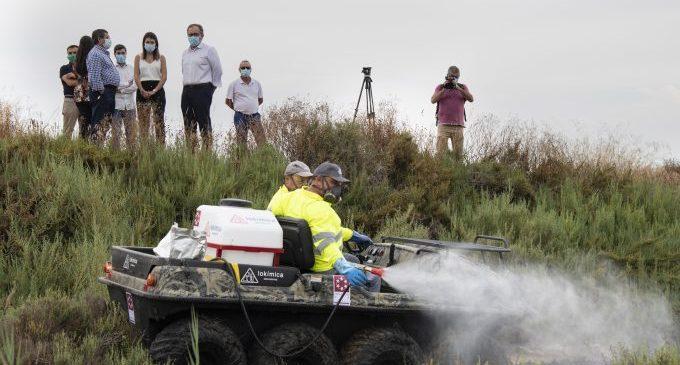 La Diputación activará mañana las fumigaciones aéreas contra los mosquitos
