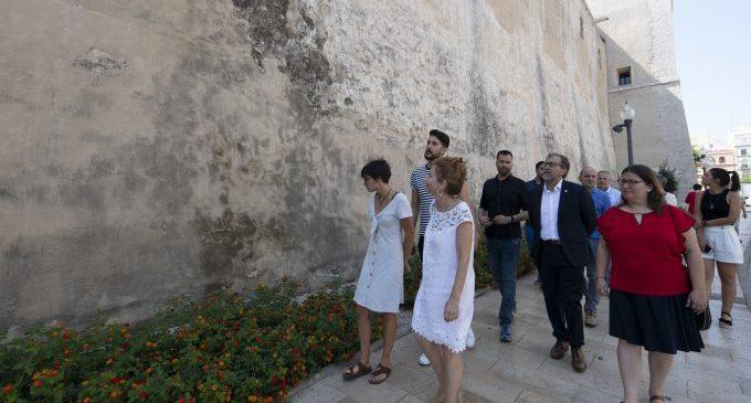 La Diputació aportarà 20.000 euros per a salvar les pintures fingides de l'Església Arxiprestal de Vinaròs