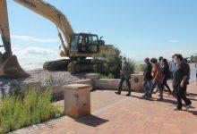 La construcció de les esculleres d'Almenara avança a bon ritme